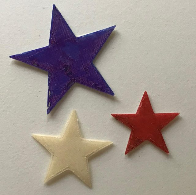 Happy 4th of July from everyone at @mangomaterials! #stars #3dprinting #pha #biopolymer #tradition #independenceday