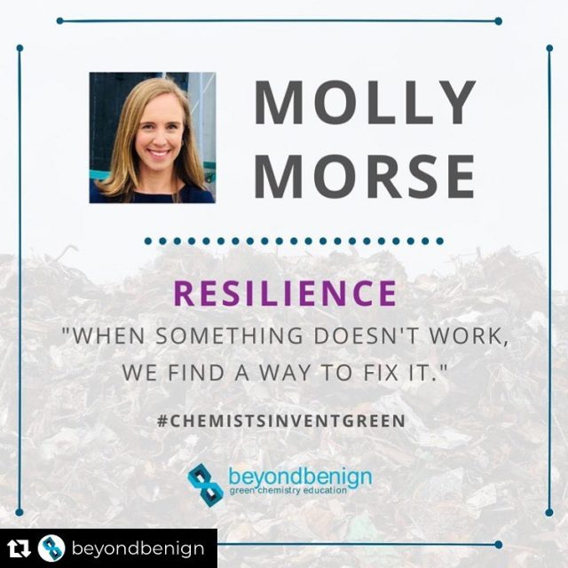 Repost from @beyondbenign using @_repostplus • Time to highlight the last inventor of the year! It's our pleasure to introduce you to @mollycmorse, the Chief Executive Officer of @mangomaterials. At Mango Materials, Molly and her team are producing biodegradable products using a greenhouse gas produced in landfills. She also talks about the current global plastic cycle and teaches us about methanotrophs! Check out the link in our bio to read her amazing story highlighted in this #ChemistsInventGreen campaign!